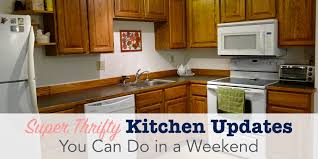 kitchen update super thrifty kitchen updates you can do in a weekend single