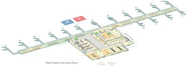 Airport Terminal Floor Plans by Terminal Map
