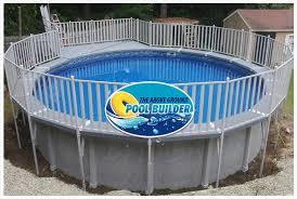 above ground composite pool deck home design ideas