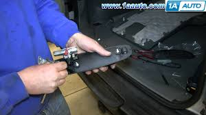 how to install replace tailgate handle 2002 07 jeep liberty youtube