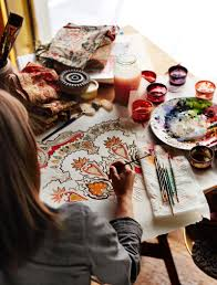 behind the design a new take on paisley pottery barn