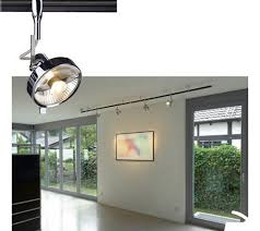 illuminazione su binario slv faretto per sistema di illuminazione su binario easytec ii