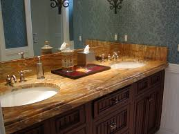 Granite Bathroom Vanity by Sidesplash And How It Meets Up With The Ogee Edge On The