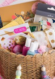 easter basket ideas for kids from toddlers to teens think make