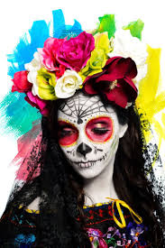 37 best day of the dead images on pinterest halloween makeup