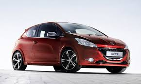 peugeot 208 red peugeot 208 gti review private fleet