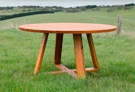 custom round dining tables bird rock round dining table by bombora custom furniture handkrafted