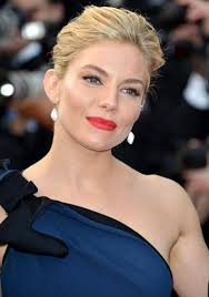 whatbhair texture does sienna miller have get sienna miller s makeup and updo from the 2015 cannes film
