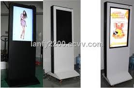 display tv 37inch floor standing lcd outdoor totem tv advertising display