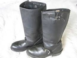 men s tall motorcycle riding boots men s tall black leather motorcycle harness boots sz 9b mad max