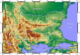 What Is A Topographic Map File Topographic Map Of Bulgaria English Png Wikimedia Commons