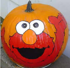 elmo painting pumpkin design harry potter castle multimania kostenlose