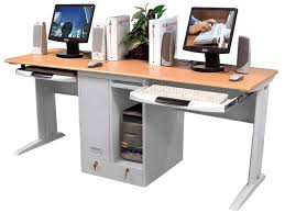 Computer Work Station Desk Extraordinary Workstation Computer Desk Marvelous Small Office