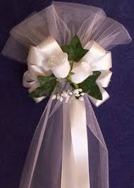 wedding pew bows 54 best pew bows images on marriage wedding pew bows