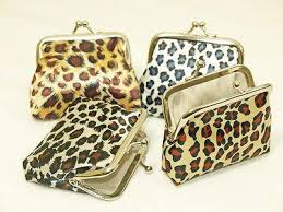 animal print coin purse wallet ladies purse ladies wallet for