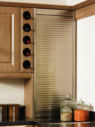 hard maple wood black shaker door kitchen cabinet wine rack