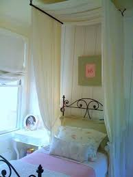Suspended Bed Frame Furniture 20 Great Photos Diy Bed Canopy Drapes Modern White