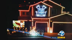 riverside house hosts 8th year of halloween light display abc7 com