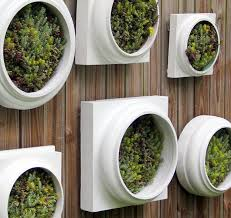 Wall Garden Planter by Garden Wall Planter With The Planning Before Planting In Them