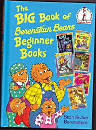 Berenstein Bears Books Vintage Books For The Very Young The Big Book Of Berenstain Bears