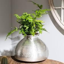 Aluminium Vases Flowers Vases U0026 Baskets One World