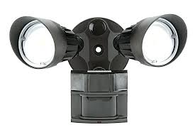 security light with camera built in motion activated security light camera white dual head solar powered