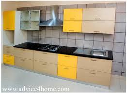 yellow kitchen design latest kitchen designs home design plan