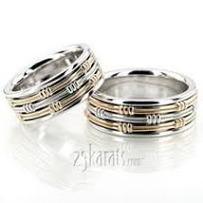 eternity wedding bands and rings 25karats page 2 religious leaf design wedding band set wedding rings