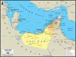 arab map united arab emirates political wall map maps