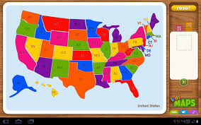 map of us american countries and capitals map puzzle montessori