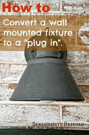 serendipity refined blog how to add an electrical plug to a wall