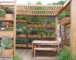 Urban Veggie Garden - urban vegetable garden design photo of good good things in small
