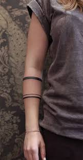 99 simple unisex tattoo designs utilizing linework tattoo