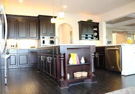wood countertops kitchen island with post lighting flooring