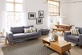 modern home interior furniture for living room design with gray