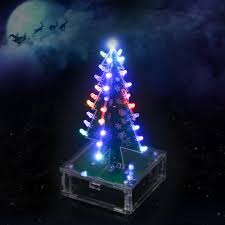 diy colorful easy making led light acrylic christmas tree with
