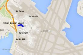 Boston Logan Airport Map Boston Spotting Hotel Hilton Boston Logan Airport