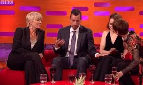 adam sandler criticised for repeatedly touching claire foy u0027s leg