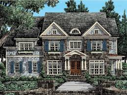 Cape Code Style House Stone Cape Cod Style House House Design Plans