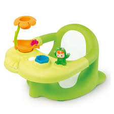 cotoons siege gonflable cotoons siège de bain vert smoby king jouet activités d éveil