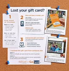 how can i get my lost gift card back gcg
