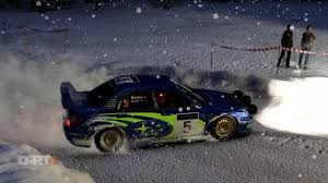 subaru rally snow dirt 4 subaru impreza wrc 2001 swedish rally snow brutal