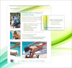 Sports Massage Business Cards Kate Threadgold Massage Jade Black Design