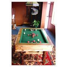 bumper pool table from drawknife