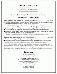 cover letter new grad nursing resume template new nurse resume