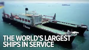 largest ship in the world all the world s largest ships in service youtube