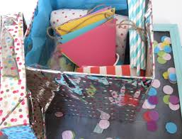 How To Put A Box Together Birthday Party Kit In A Box Pretty Providence