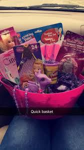 dollar tree girly gift basket 4 yr gift ideas