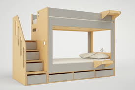 Bunk Bed With Stair Cabin Bunk Bed With Stairs Casa