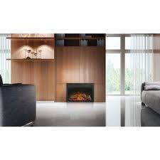 Fireplace Electric Insert Fireplace Inserts Fireplaces The Home Depot